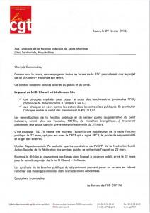 courrier UD fonction publique