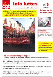 info luttes N°9 2016-1