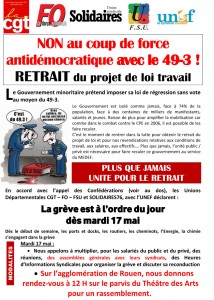 Tract des UD 76 une